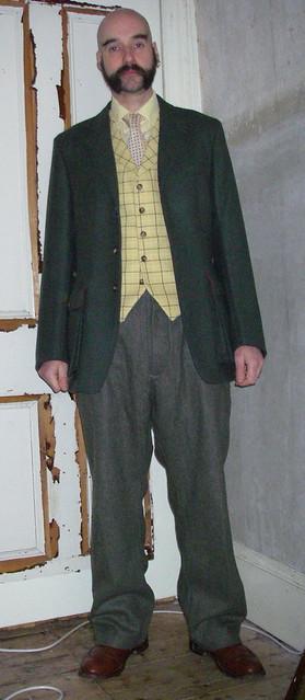 brussels wool boot belgium norfolk remix jacket islay trousers thriftstore wardrobe barras fleamarket waistcoat brogue tweed charityshop bespoke armysurplus trickers justifiedsinner johnbraye