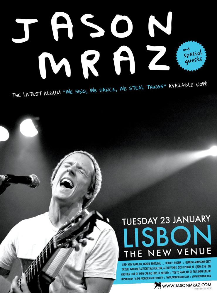 JASON MRAZ TOURING DATES