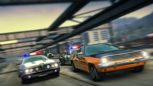 Burnout Paradise Cops and robbers