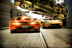 Speed Thrill (Front Page Explore) :D Yahoo (Xploi ) Tags: world pakistan copyright art cars love car one still nikon asia shot heart accident  captured creative process karachi 2009 edit atif nikoncorporation xploiter