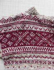 Norsk lusetrja, Norwegian sweater (AnnaKika) Tags: knitting top knitted stranded oxo norsk ull trja stickat stickning stickad lusetrja annakika verdel