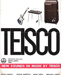 60's Teisco ad with King amp (sano12) Tags: teisco