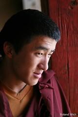 Zhngdin / Shangri-La - Monk in Ganden Sumtseling Gompa (Rolandito.) Tags: china shangrila yunnan zhongdian