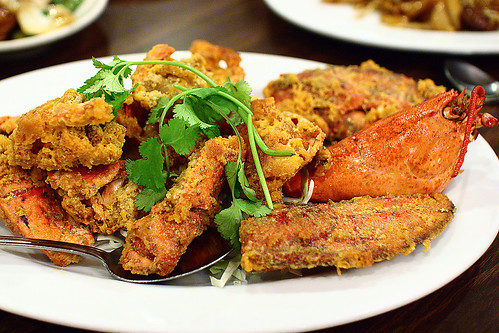 Cheese-fried Lobster