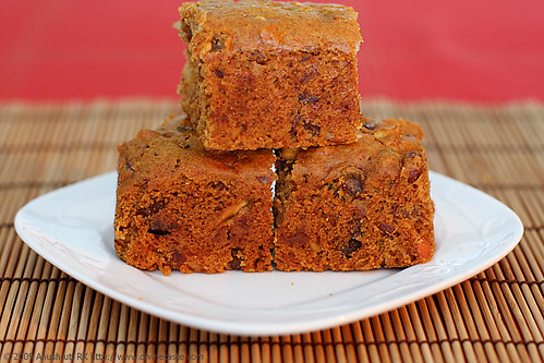 Eggless Fruit Nut Cake