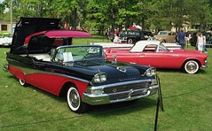 1958 Ford Fairlane 500 Skyliner hardtop convertible (carphoto) Tags: ford 1958 skyliner hardtopconvertible willisteadconcours1991 1958fordfairlane500skylinerconvertible richardspiegelmancarphoto
