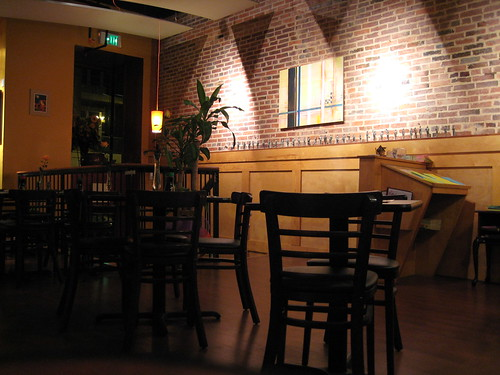 Interior of Aloha Sushi