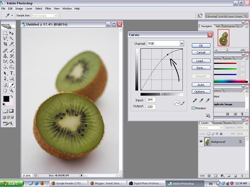 Editing Curves in Photoshop