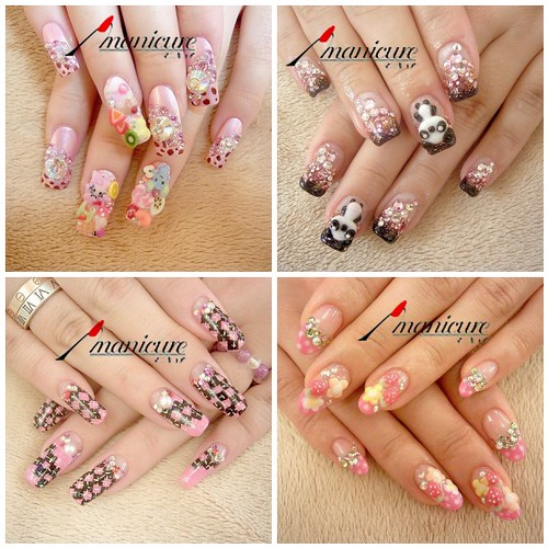 cute nail designs for valentines day. Cool Best Nail Design Trends and Ideas for Summer 2011