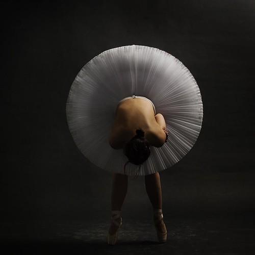 Reverencia de bailarina Ballet
