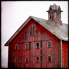 untitled (dbthayer) Tags: ohio red topf25 barn rural topf50 cupola  interestingness97 i500