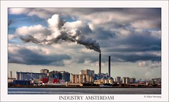 Industry Amsterdam (Alex Verweij) Tags: haven industry amsterdam clouds canon harbor smoke wolken rook industrie hdr ndsm werf schoorsteen 40d mywinners anawesomeshot aplusphoto flickrlovers alexverweij