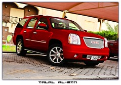 Yukon Denali 2009 (Talal Al-Mtn) Tags: red yukon kuwait denali gmc q8   kwtmotor talalalmtn yukongmc