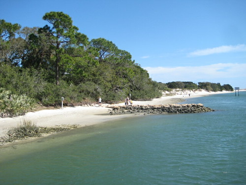 beach at Ft. Matanzas