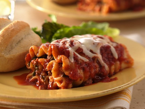 RECIPE: Beef and Spinach Lasagna Roll-Ups