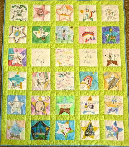 Fundraiser Quilt Green