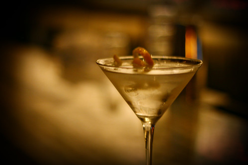 Gin and Vodka Martini with a twist