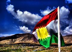 HDR 2009 KURD kurdistan Flag