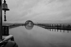 Falkirk Wheel (Leo Reynolds) Tags: bw wheel photoshop canon eos iso100 duotone f95 30d 22mm 0006sec hpexif leol30random groupsepiabw xleol30x xxx2009xxx xratio3x2x
