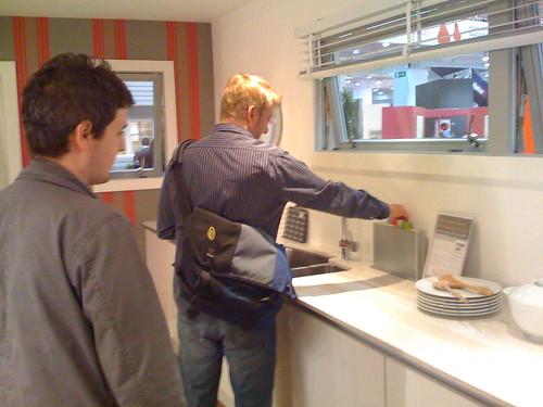 Drew in kitchen