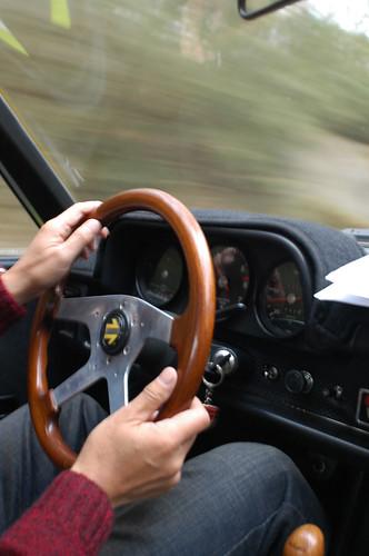 Porsche 914  interior