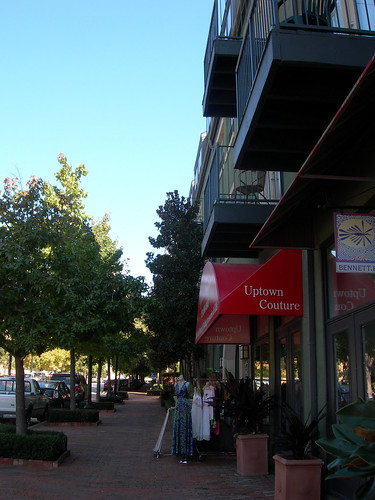A typical Uptown street