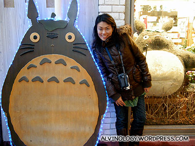 Rachel was excited to see a specialty store selling Totoro toys and other Hayao Miyazakis stuff
