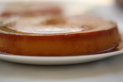 Aunti Olive's leche flan
