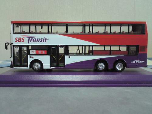 SBS TRANSIT double decker bus model - a photo on Flickriver