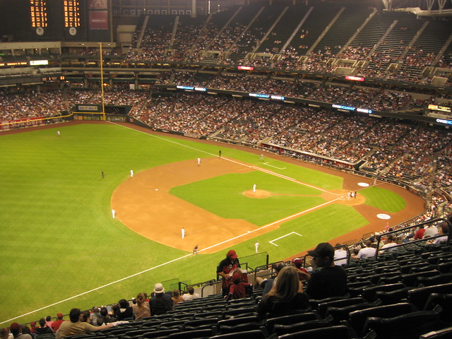 Arizona Diamondbacks 9, Los Angeles Dodgers 4, Chase Field, Phoenix, Arizona (33)