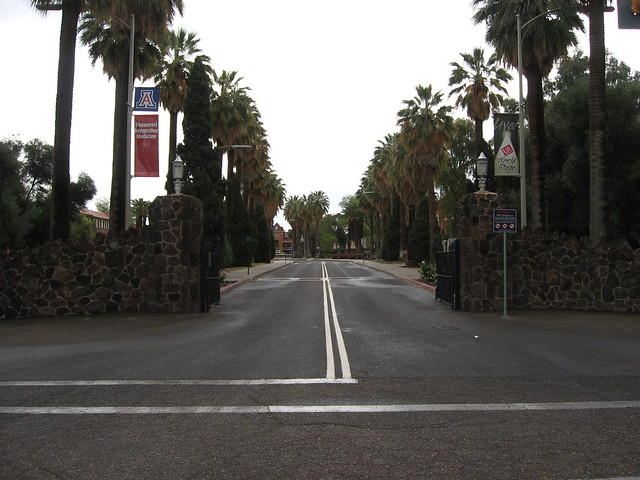 Main Gate, University of Arizona