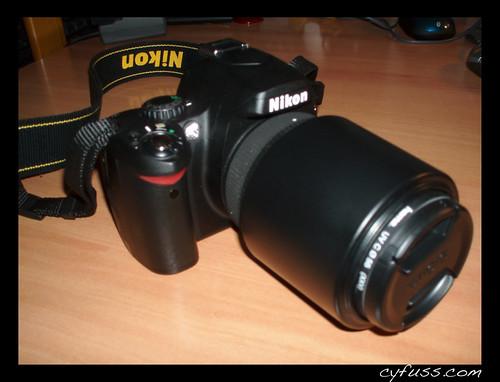 Nikon d40 + sigma 55-200mm