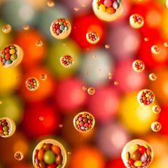 Chocolate bubbles II