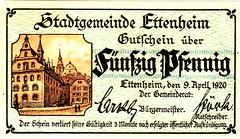 Ettenheim, 50 pf, 1920 (Iliazd) Tags: notgeld germaninflationarycurrency emergencymoney germanpapermoney