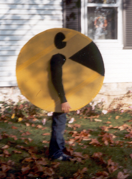 Brother - Pac-Man Costume - side (Click to enlarge)