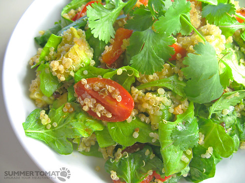3569621419 b629163c12 Summer quinoa recipe   Mexican style quinoa salad