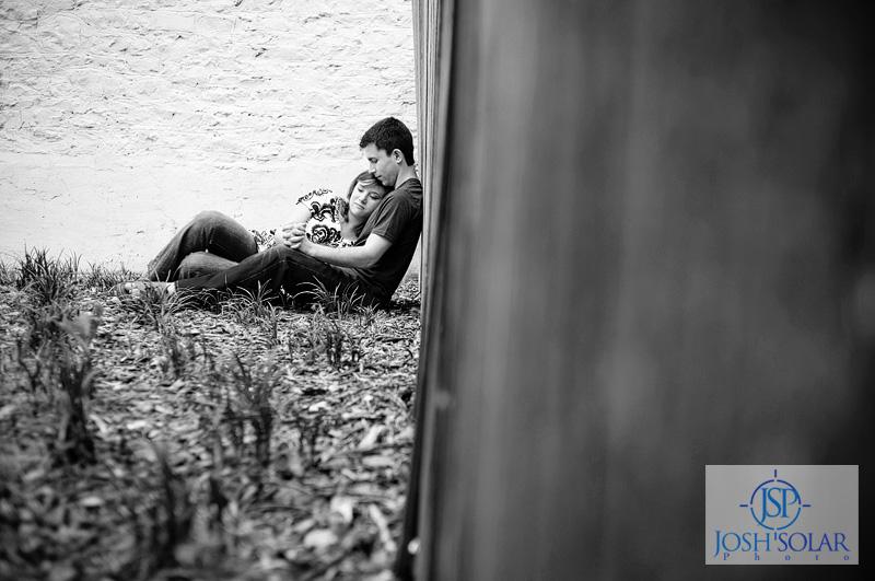 A Kansas City wedding photographer Solar Photographers portrait taken in Lawrence, KS. 1