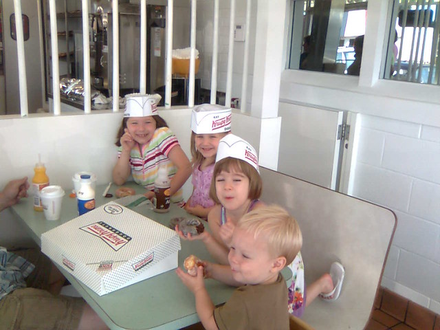 Sunday's Breakfast @ Krispy Kreme!