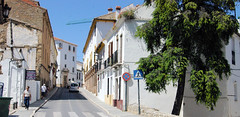 Streets of Ronda (cwgoodroe) Tags: summer costa white hot sol beach del bells spain ancient europe churches sunny bull bullfighter adobe ronda moors walls washed clothesline protective newbridge roda bullring stonebridge oldbridge spainish whitehilltown rondah spanishdoors