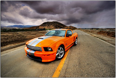 Orange Juice (Extra Medium) Tags: shelby hotrod mustang camarillo hdr sportscar hdrcars hdrautos