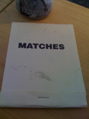 matches minizine
