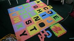 字母拼圖墊