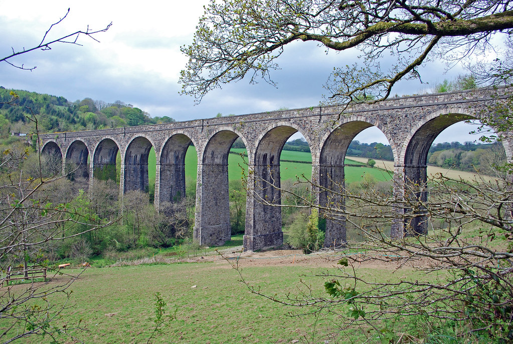 Shillamill Viaduct, Tavistock (by Jess FM)
