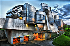 weisman art museum by frank gehry (Dan Anderson (dead camera, RIP)) Tags: building art minnesota st museum architecture paul steel cities minneapolis twin m u frankgehry mn stainless weisman universityofminnesota weismanartmuseum frederickrweisman dananderson