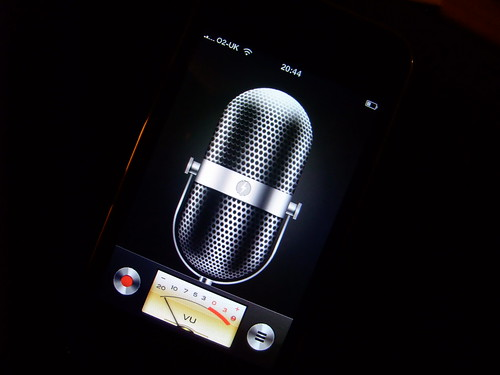 iPhone Voice Memo App
