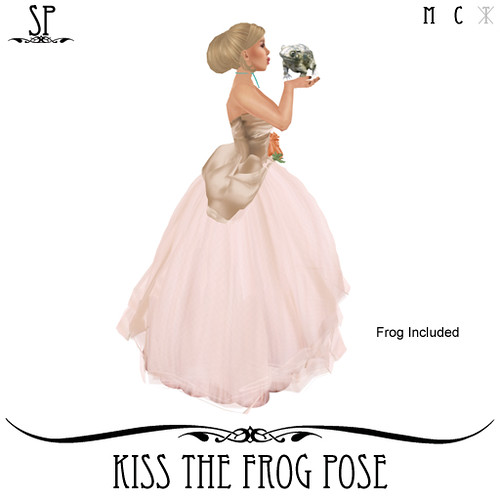 Kiss The Frog Pose