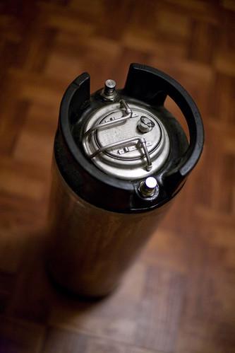 a soda keg, aka cornelius keg, aka corny keg