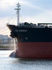 Ship zoom (Mitch Waxman) Tags: vehicle newyorkharbor killvankull workingharbor
