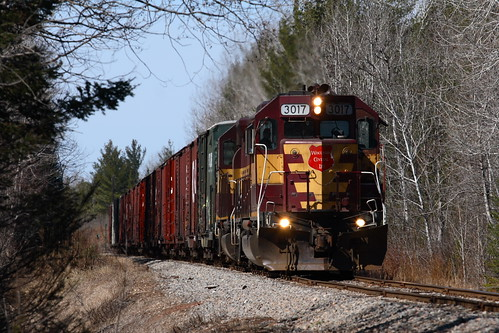 CN L-581 Departs for White Pine