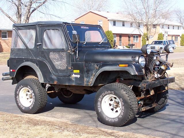 jeep 1976 snowplow cj5